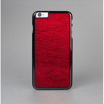 The Rich Red Leather Skin-Sert Case for the Apple iPhone 6 Plus