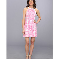 Lilly Pulitzer Pearl Halter Shift Dress