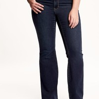 Old Navy Mid Rise Rockstar Plus Size Boot Cut Jeans