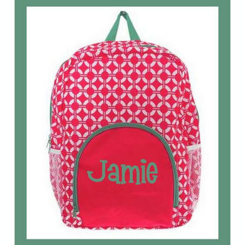 Watermelon Lattice backpack and lunchbox set!