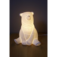 Porcelain Bear Lamp