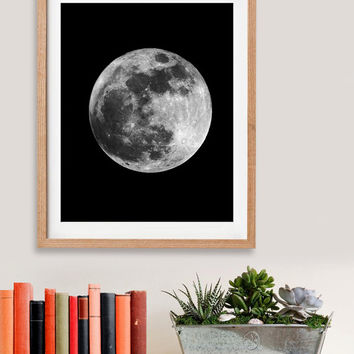 60% OFF SALE Moon Phases Art Digital Art Download Digital Print Canvas Art Art Print Large Painting Instant Download 8x10
