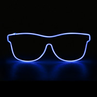 Blue El Wire Wayfarer