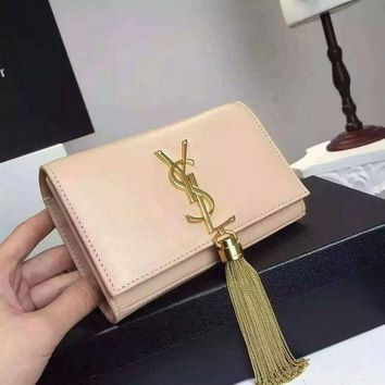 PEAPONQK YSL SAINT LAURENT A232150 BEIGE BAG HANDBAG