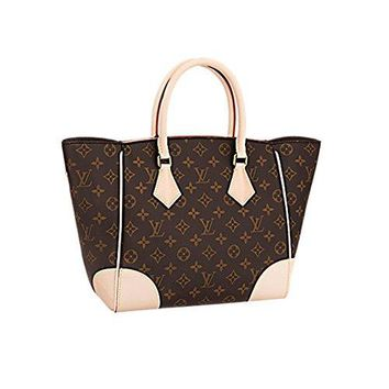 Authentic Louis Vuitton Monogram Canvas Phenix MM Bag Handbag Article: M41540 Made in France