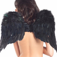 Short Angel Feathered Wings