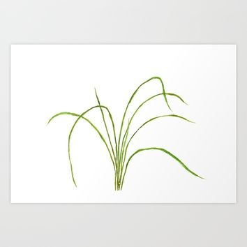 Grass Art Print by Color and Color