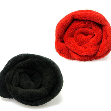 Rose Plush Pin