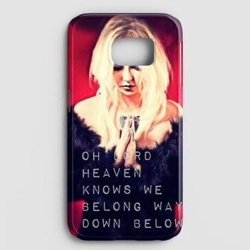 The Pretty Reckless Quotes Samsung Galaxy S7 Edge Case