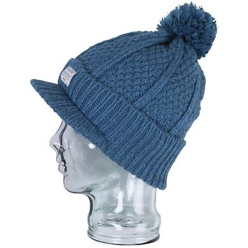 Foursquare Cable Visor Beanie - Women's