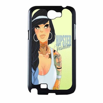 Hipster Jasmine Disney Princess Samsung Galaxy Note 2 Case
