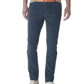 Dockers Alpha Khaki Pants, Skinny - Officer Blue Cord - Men's