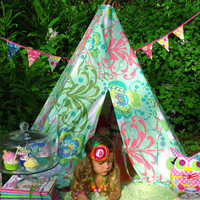 Tee Pee, Play Tent, Tent, Kids Playhouse, Photography Prop