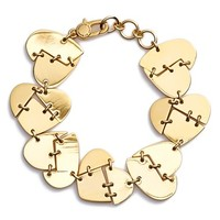Women's Marc by Marc Jacobs 'Broken Hearted' Bracelet - Oro