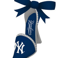 New York Yankees High Heeled Shoe Ornament