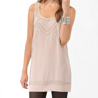 Embellished Woven Dress