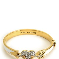 Pave Heart & Arrow Enamel Bangle by Juicy Couture, O/S