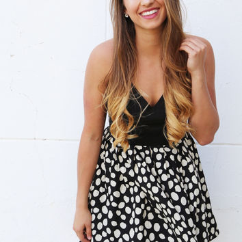 Little Bow Chic Flare Dress