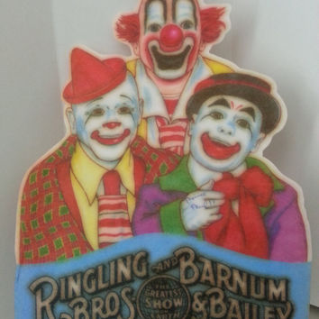 Vintage Ringling Bros & Barnum Bailey Circus Pennant