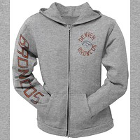 Denver Broncos - Sunday Juniors Zip Hoodie