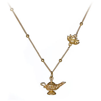 Art of Jasmine Lamp Necklace