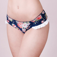 Sexy  panties Cute and delicate flowered by MajoReyLingerie