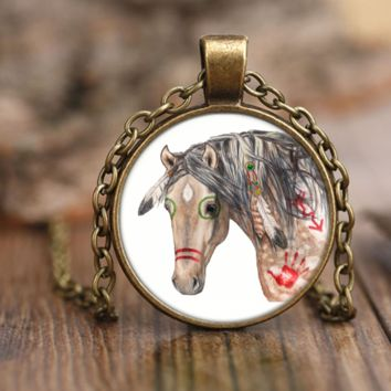 Indian Horse Necklace