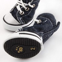 Casual Denim Style Shoes for Dogs (XS-XL  Assorted Colors)(L) - Default