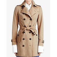 Burberry Classic women mid length trench coat