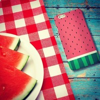 iPhone 5 Case iPhone 5s Case LUOLNH Fashion Style Colorful Painted WaterMelon Cl...