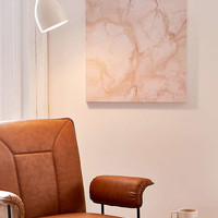 Chelsea Victoria For DENY Pink Marble Canvas Wall Art - Urban Outfitters