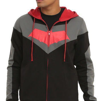 DC Comics Batman: Arkham Knight Red Hood Hoodie