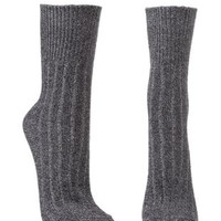 Ribbed & Marled Crew Socks by Charlotte Russe