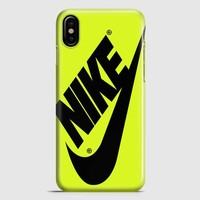 Nike Just Do It Water Marble Pastel iPhone X Case
