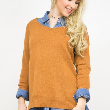 Knit Pullover Paradise Sweater