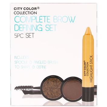 City Color Collection Complete Brow Defining Set 5PC Set