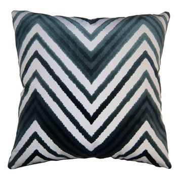 Square Feathers Sky Chevron Accent Pillow | Nordstrom
