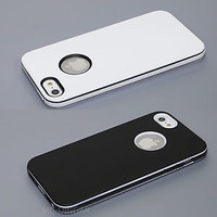 Apple UltraThin Slim Design Soft  Hybrid PC Bumper Case Cover For iPhone 5 5S SE
