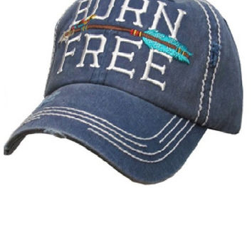 * Born Free Cap In Navy