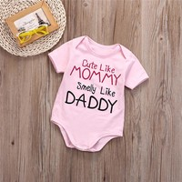 Baby Clothes Girl Pink Romper
