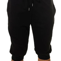 The Jogger Shorts in Black
