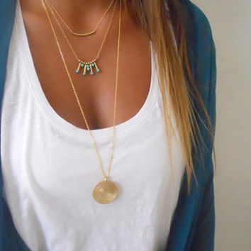 Simple Ethnic Style Necklace