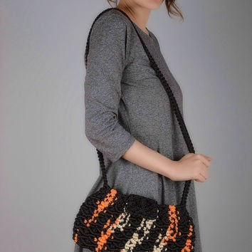 Macrame bag handmade accessories ladies handbags women purse gifts for girls