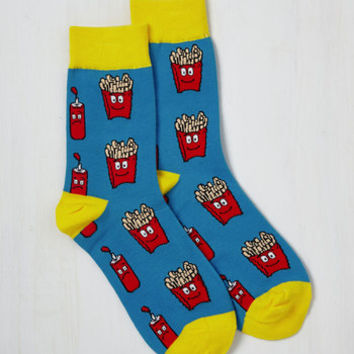 Fries to the Challenge Socks