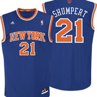 Iman Shumpert Jersey: adidas Revolution 30 Road Replica #21 New York Knicks 2012-2013 Jersey