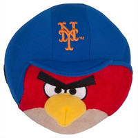 MLB New York Mets Angry Bird Plush Toy, Small, Yellow