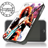 Led Zeppelin Jimmy Page Art iPhone 4/5/5c/6 Plus Case, Samsung Galaxy S3 S4 S5 Note 3 4 Case, iPod 4 5 Case, HtC One M7 M8 and Nexus Case