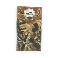 Nocona Men's Camo Cowboy Prayer Rodeo Wallet