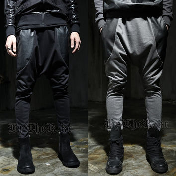 Autumn Korean Men's Fashion Pants With Pocket Casual Sportswear [6544570051]