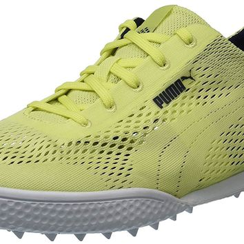 PUMA Women's Monolite Cat Woven Golf Shoe